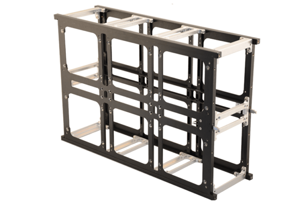 6 Unit cubesat structure