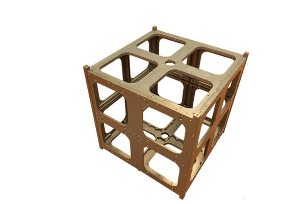 8 Unit cubesat structure
