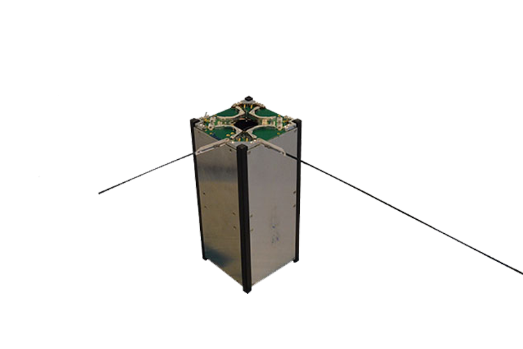 Monopole antenna for cubesat