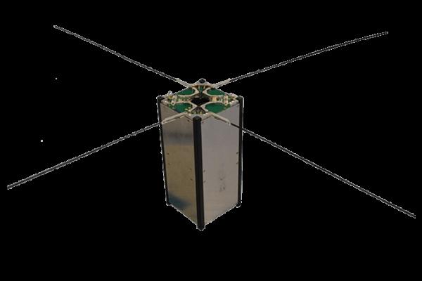 Cubesat turnstile deployable antenna system