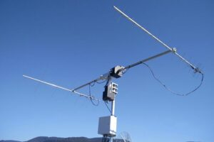 Small satellite VHF UHF ground station