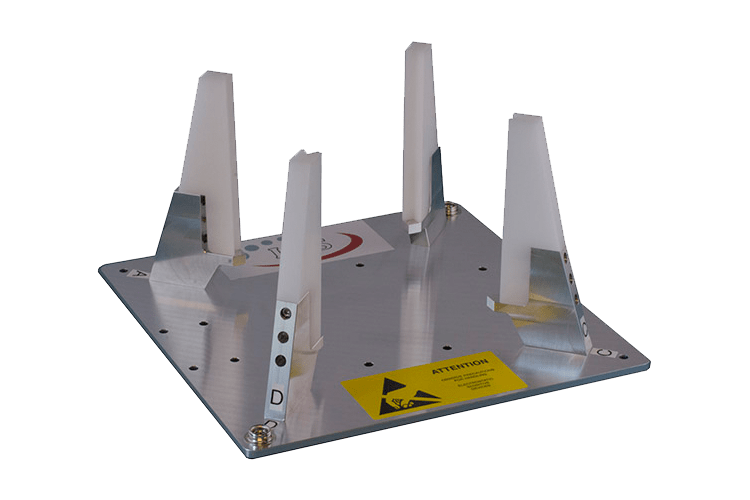 Vertical Integration Support Jig for 1U-2U-3U CubeSats