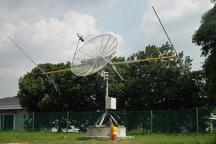 Small satellite Ground station VHF/UHF/S-band
