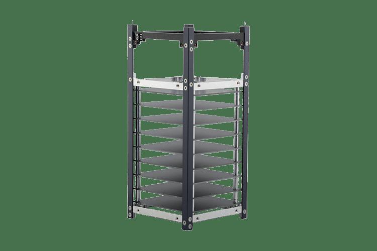 2 Unit Long Stack Cubesat Structure Cubesatshop Com