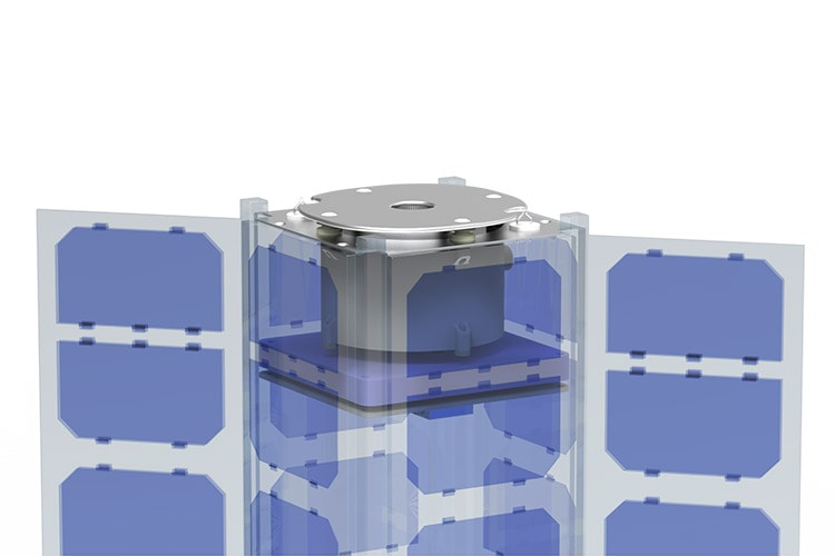 3U Cubesat+1CrownThruster
